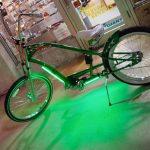 Lâmpadas de segurança destacam quem pedala à noite