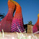 Esculturas de lápis de cera