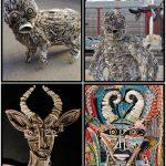 Nick Georgiou & suas esculturas de papel