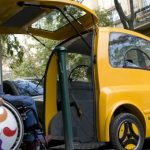 Kenguru: o primeiro carro elétrico para cadeirantes
