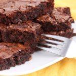 Bolo-Brownie de Chocolate Vegano – Veganique