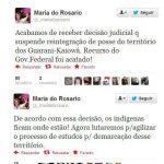 Vitória dos irmãos Guarani-Kaiowá! o//