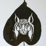 Lorenzo Duran: arte com folhas secas