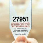 """""""Ticket de Espera"""" – Comercial Social criado pela Y&R"""