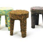 Designer cria bancos reaproveitando objetos abandonados