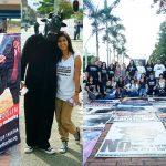 Ativistas protestam contra touradas em Medellín