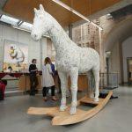 Cavalo de Troia criado a partir de peças de computador – Upcycling