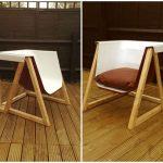 Upcycling: Cadeira é feita a partir de banheira antiga