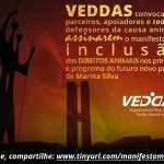 Veddas solicita a Inclusão dos Direitos Animais em partido de Marina Silva