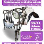 Palestra sobre Feminismo e Veganismo em São José dos Campos | 02/11