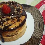 Panetone Vegan: Chocotone Trufado com Morango