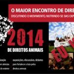 ENDA 2014: Participe do maior encontro de direitos animais do Brasil!