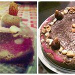 Torta Crudívora Vegetariana Arco-Íris