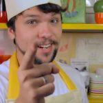 Vlogueiro Gustavo Horn cria receitas vegetarianas em seu canal