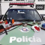 Polícia Ambiental prende indivíduo com arma de caça em Taubaté