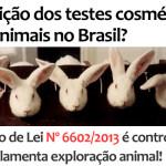 Abolição dos testes cosméticos em animais no Brasil?