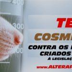 Campanha nacional contra testes cosméticos em animais!