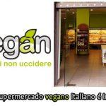 Primeiro supermercado vegano italiano é inaugurado