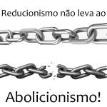 Reducionismos não levam ao abolicionismo