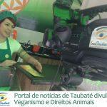 Portal de notícias de Taubaté divulga matéria sobre Veganismo
