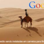 Google instala máquinas em camelos para filmar no deserto