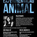 Especialista da PCRM ministrará palestra em SP e RJ