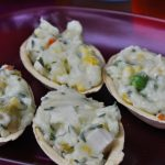 Barquetes de maionese vegetariana