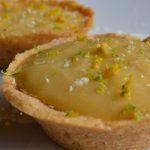 Tortinha de pêssego vegana