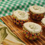 Cupcake Vegetariano de Kiwi e Hortelã