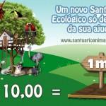 Famosos apoiam campanha para salvar santuário de animais