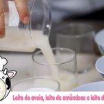 Chef paulista ensina como fazer leites vegetais