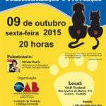 Palestra sobre castração solidária será realizada na OAB