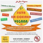 Rio de Janeiro terá sua primeira Festa da Coxinha Vegana