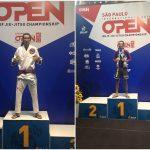 Atleta vegetariano Leon Denis ganha mais uma medalha de ouro