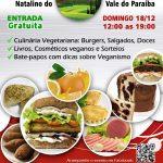 Taubaté (SP) terá Bazar Vegan Natalino neste domingo (18)