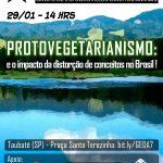 Grupo de Estudo tratará sobre o conceito de Protovegetarianismo