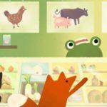 """Doodle do Google sinaliza """"Vegetarianismo"""" no Dia da Terra"""